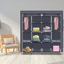 67' Clothes Closet Portable Wardrobe Clothes