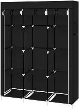 67' Portable Closet Organizer Wardrobe Storage