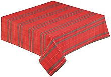 68 INCH (173cm) Round Christmas Tartan Tablecloth
