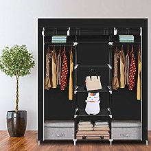 "69"" Portable Clothes Closet,Fabric"