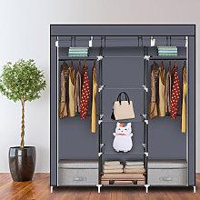 69' Portable Clothes Closet Non-Woven Fabric