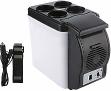 6L Mini Car Refrigerator Auto Camping Fridge