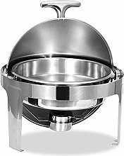 6L Stainless Steel Chafing Dish Set Buffet Silver