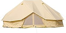 6M/19.6ft Oxford Fabric Bell Tent, 4-Season Large