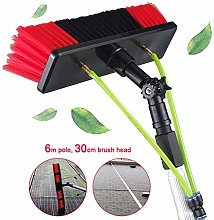 6m Window Cleaning Pole, Water Fed Telescopic