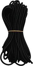 6mm Black Elastic Shock Cord Bungee Rope Tie Down