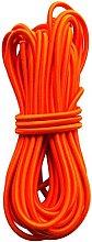 6mm Orange Elastic Shock Cord Bungee Rope Tie Down