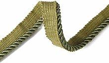 6mm Silky Barley Twist Cord Rope Braid 3 Ply &