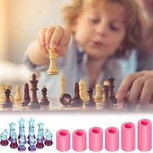 6PC Chess Silicone Mold 3D Shape Epoxy Handmade