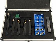 6pc Indexable Turning Tool Set 10mm Shank Turning