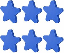 6pcs/10pcs Cartoon Star Shape Pull Handles Door