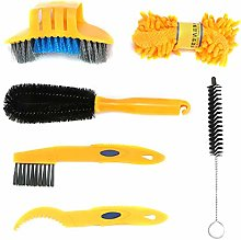 6pcs Bike Cleaning Tool Set, Bicycle Clean Brush