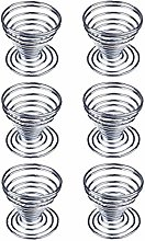 6Pcs Egg Cup Egg Metal Wire Tray Cup Storage Rack