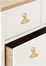 6pcs Gold Color Bronze Alloy Knobs, Kitchen