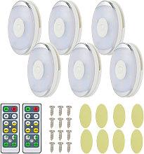 6pcs/pack LED Under Cabinet Light Led Closet Light