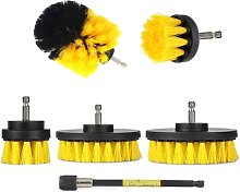 6Pcs Power Scrubber Cleaning Kit All Purpose Drill
