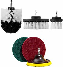 6Pcs/Set Cleaning Drill Brush Wall Tile Grout