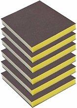 6pcs/Set Drywall Polishing Sanding Sponge Block