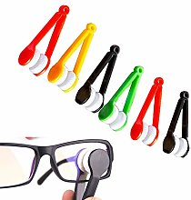 6pcs Spectacle Glass Cleaner,Eyeglass Brush