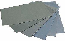 6Pcs Wet/Dry Waterproof Abrasive Sandpapers 6
