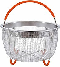 6Qt Stainless Steel Steamer Basket Pot Accessories