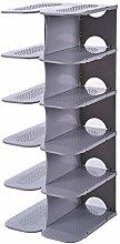 6Tier Shoe Racks Storage, Plastic Cube Storage
