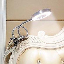 6W LED USB Clip on Reading Light for Books,