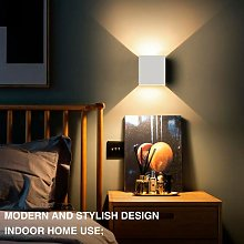 6W Led Wall Light Up Down Indoor Wall Lamp Modern