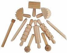 6Wcveuebuc 12Pcs/Set Children DIY Plasticine