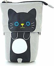 6Wcveuebuc Cute Pencil Case Pen Bag Zipper Pouch
