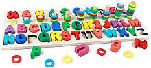 6Wcveuebuc Montessori Jigsaw Wooden Puzzle Toy