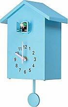 6Wcveuebuc Plastic Cuckoo Clock Cuckoo Wall Clock,