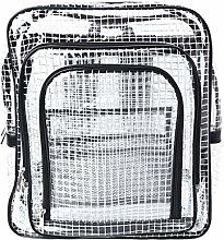 6Wcveuebuc Unisex Anti-static Clear Backpack