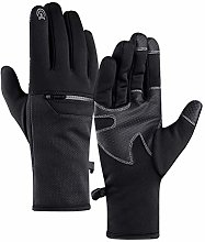 6Wcveuebuc Unisex Winter Thermal Gloves Touch