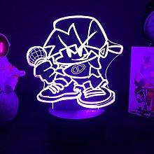7.8in Friday Night Funkin Acrylic Night Light,