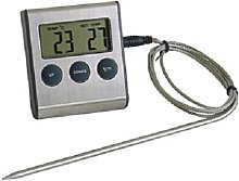 7 cm Digital Meat Thermometer with Timer GSD