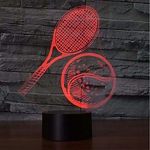 7 Color Changing USB LED 3D Visual Tennis Model