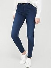 7 For All Mankind Skinny Slim Illusion Jeans -