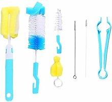 7 in 1 Bottle Brush Cleaner Kit Cleaning Brush Set
