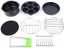 "7 in1 Accessory Set 8""for hot air Fryer Hot"