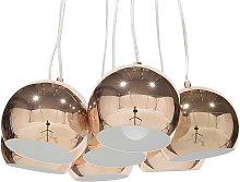 7 Light Cluster Pendant Lamp Copper OLZA
