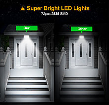 7 Piece LED Flood Light Waterproof Super Bright
