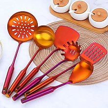 7 Pieces Stainless Steel cookware Spatula Set
