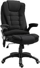 7 Point Heated Massage Chair 130° Recline Linen