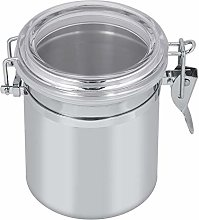 700ml Airtight Kitchen Canister, Stainless Steel
