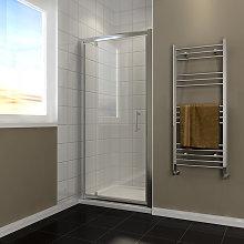 700mm Pivot Hinge Shower Door Reversible Shower