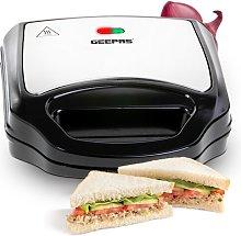 700W 2 Slice Sandwich Maker Geepas
