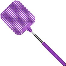 70cm Extendible Fly Swatter Telescopic Pest Insect