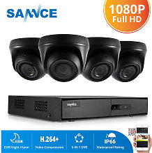 720P Home Video Security System with 1080N 4