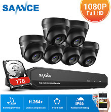 720P Home Video Security System with 1080N DVR
